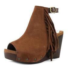 Sandalias y chanclas de mujer de tacón alto (más que 7,5 cm) de piel talla 37.5