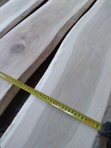 Solid Planed Oak Ash Boards Slab Top Rustic Plank/Table/Shelf/Hardwood Timber