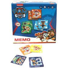 Memo Spiel Jungen | 36 Legekarten | Paw Patrol | Kinder-/ Familienspiel