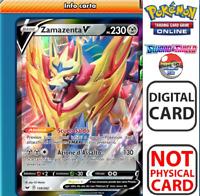 Zamazenta V Sword & Shield/Spada e Scudo DIGITAL CARD NOT REAL Pokemon TCGO