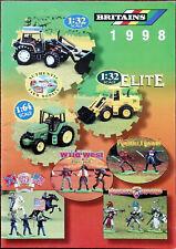 Britains Catalogue 1998 Farm models, Elite, Wild West, American Civil War etc.