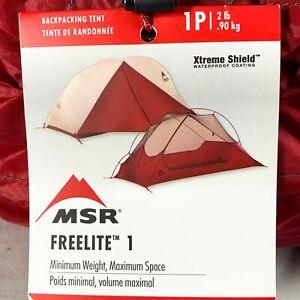 MSR Freelite 1 Ultralight Backpacking Tent - NEW
