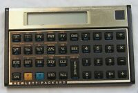Hewlett-Packard 12C financial calculator works tested with batteries