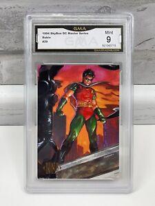 1994 Skybox DC Comics Master Series ROBIN #29 GMA Mint 9