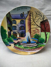 Two Sisters Courtyard  New Orleans Colorful Collectable Decorative Plate 8""