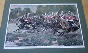 Military. British Cavalry. 1880
