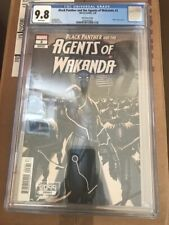 Black Panther and the Agents of Wakanda #3 CGC 9.8 2099 variant