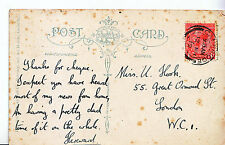 Genealogy Postcard - Family History - Hook? - Great Ormond Street - London U3831