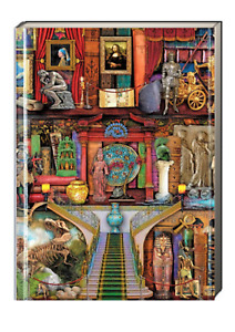 Flame Tree Journal: Aimee Stewart Museum Bookshelves (Hardcover, Foiled Cover)