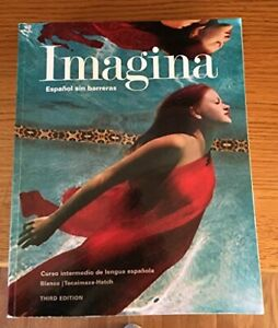 Imagina: espanol sin barreras - curso intermedio de lengua espanola instructo...