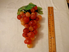 """Artificial Grapes Red Vintage Retro Red Grapes 7"""""""