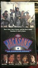 THE JACKSONS AN AMERICAN DREAM THE COMPLETE MINISERIES 2 VHS BOX SET /BRAND NEW!