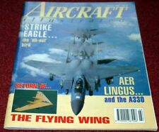 Aircraft Illustrated 1995 March - Aer Lingus - Wideroe - Harrier - F15 -Vanguard