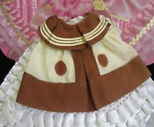 """Vintage 1930s  Ideal Shirley Temple  """"Little Colonel"""" Military Doll Dress - RARE"""