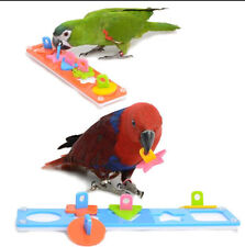 Eco-friendly Parrot Toys Training Playing Puzzle Educational Bird Products D410