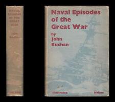 Buchan NAVAL EPISODES of the GREAT WAR, North Sea DARDANELLES Submarines JUTLAND