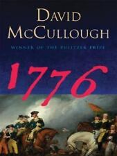 1776 by David McCullough (2006, Paperback, Large Print)