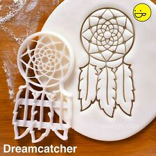 Dreamcatcher Cortador de Galletas | Indie Baby Shower Boho Bohemio plumas de Vivero