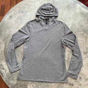 Lululemon Men's Long Sleeve Hooded Gray Shirt Small