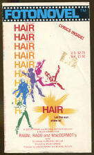 Hair: The Fotonovel by Ragni and Rado-First Printing-1979-Color Illustrations