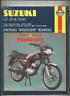 Suzuki ZR50S TS50 GT50 (1977-1989) Haynes Repair Manual GT ZR TS 50 ER X1 CG69