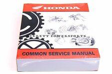 New Honda Common Service Manual Motorcycle Atv Pwc Theory Maintenance Book #O178