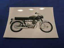 Original Press Photo Moto Guzzi 125cc Sport Beautiful Picture 475