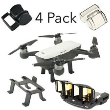 DJI Spark Accessories Set Bundle Combo Lens Cap Hood Sun Shade Camera Cover