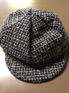 Men's Newsboy Hat Multi Colored Blend New
