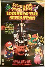 Super Mario RPG: Legend of the Seven Stars (1996)(Super Nintendo/SNES) Poster