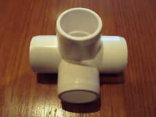 Wholesale pack 50  PVC 4 way fitting 3/4 inch for 1.050 inch O/D pipe