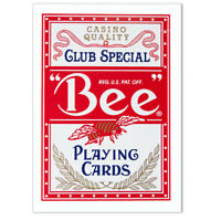 Bee Premium Playing Cards, Red, by United States Playing Card Company