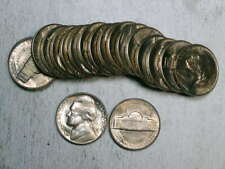 1950-D Jefferson Nickel, Choice Uncirculated Out of BU Roll     0509-97