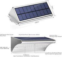 Solar Lights Outdoor- 800 Lumens 48 LEDs Aluminum Alloy Housing Wall Light (