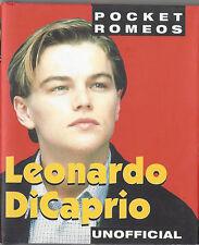 """LEONARDO DICAPRIO ~ DISCONTINUED """"POCKET ROMEO"""" BOOK ~ BRAND NEW, NEVER OPENED"""