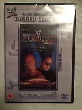 WWE - Wrestlemania 17 (DVD, 2009, 2-Disc Set) **New & Sealed**