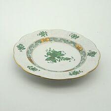 Apponyi Grün Vert Herend Teller Gebäckteller Beilagenteller ca. 12,5 cm