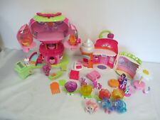 MY LITTLE PONY SWEET SHOPPE & TREE HOUSE- BREEZIES  PONIES ACCESSORIES LOT