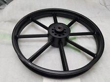 Invader Mag Wheel Harley Panhead Sportster Knucklehead 2.50x18 Black Drum Brake