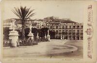 Sommer Napoli Villa Nazionale Italia Foto PL17c2n25 Armadio Vintage Albumina