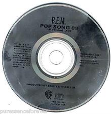 R.E.M. - Pop Song 89 (USA 1 Tk Radio/DJ CD Single)