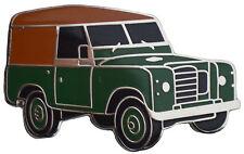 Land Rover Series III lapel pin - Green