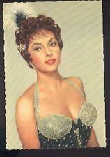 GINA LOLLOBRIGIDA busty vintage 60s cp carte postale postcard photo 1033