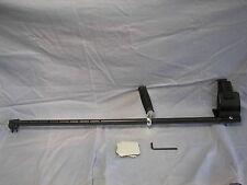 """Plugger 33"""" Hip Mount Shaft for Minelab Excalibur  in Carbon Fiber"""