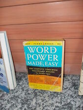 Word Power Made Easy, The Complete Three Week Vocabulary Builder
