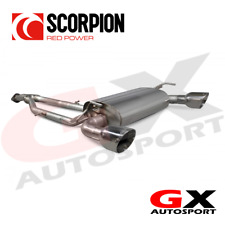 SNS012 Scorpion Exhausts For Nissan 370Z 2009-2018 HalfSystem Y-piece Back