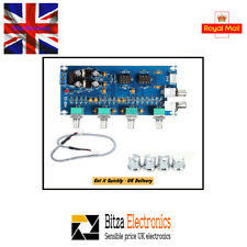 HiFi Stereo Low noise Pre-Amp Board with Tone and Volume Control UK