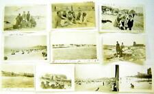 Lot of 10 photos, most:taken at NANTASKET, Beach, Massachusetts,  1919, 1922