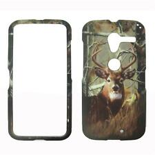 2D Camo Deer Conifer Motorola Moto X  / Phone XT1055 Cover Case