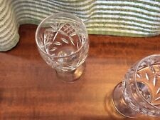 5 Beautiful Crystal Glasses / Goblets